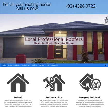Roof Restoration Central Coast
